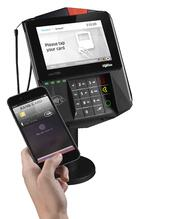 Payment terminal accepting Apple Pay