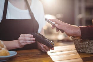 paying with contactless