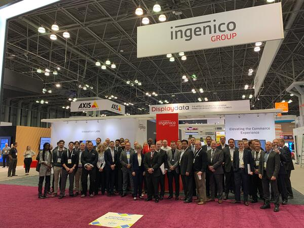 Ingenico team at NRF 2020