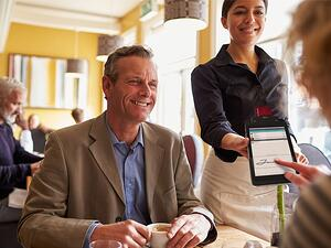 Pay-at-the-Table in restaurants
